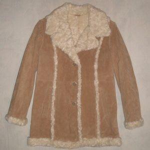 NWT Wilsons Leather Maxima Suede Jacket Size Large